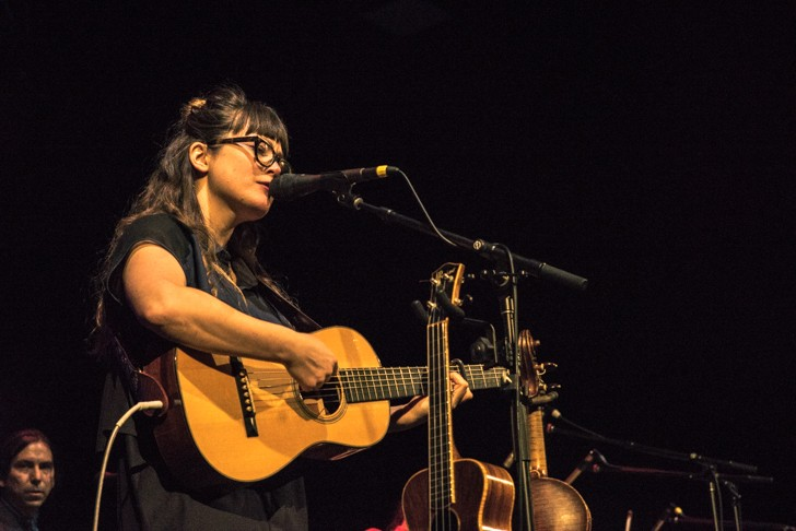 Sara Watkins at the Plaza Live - MIKE DUNN