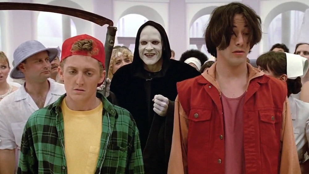 bill and ted keanu