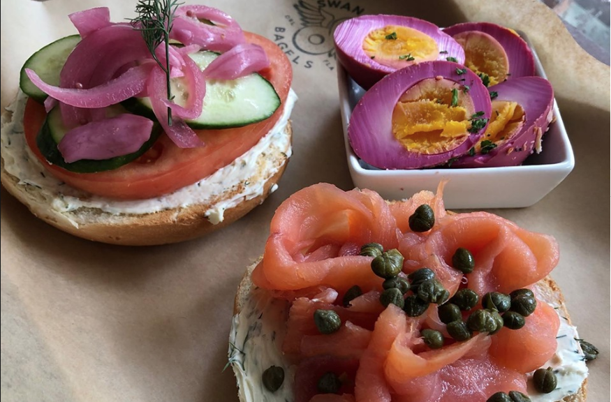 Swan City Bagels Open At Eola General Tapa Toro Launches