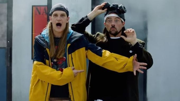 Jason Mewes and Kevin Smith in Jay and Silent Bob Reboot - IMAGE COURTESY SABAN FILMS
