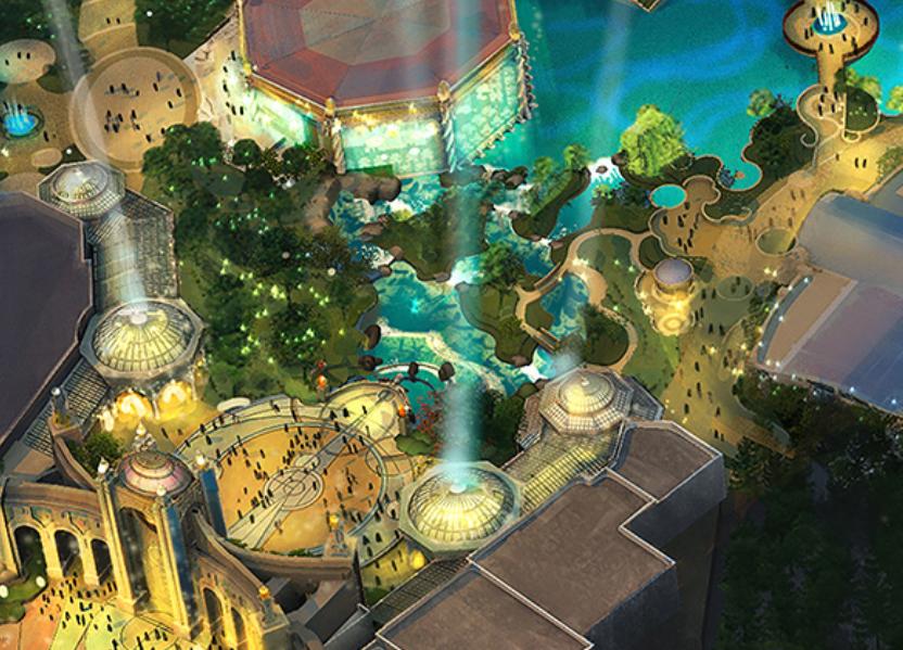 Universal's new theme park, Epic Universe - IMAGE VIA NBCUNIVERSAL