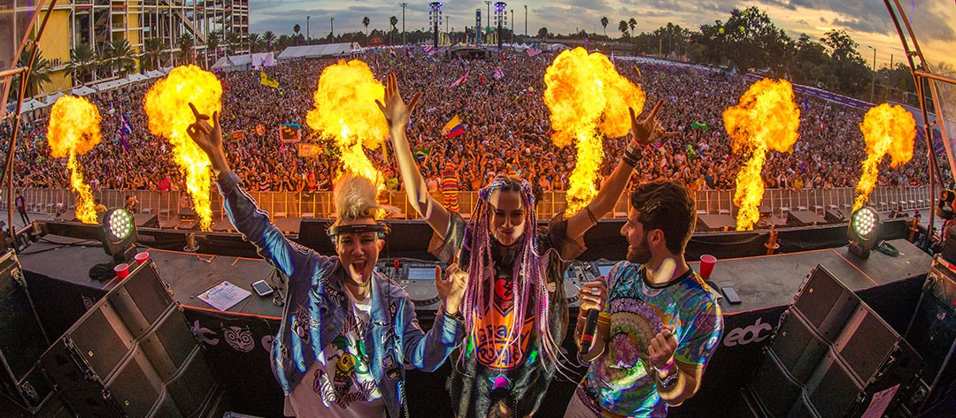 Orlando's Electric Daisy Carnival just announced full lineup of more than 100 artists