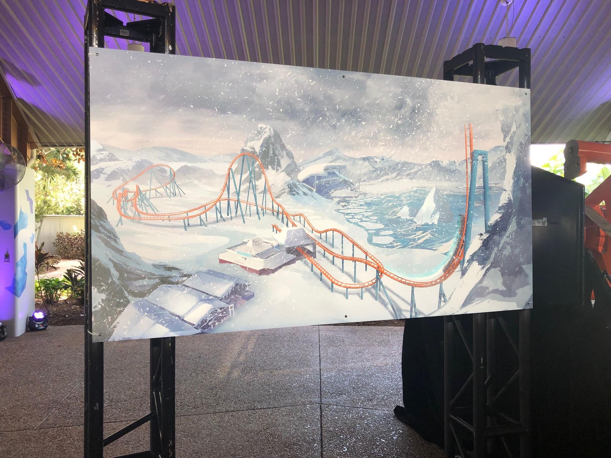 SeaWorld Orlando announces Ice Breaker launch coaster for 2020