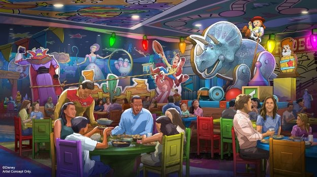 Roundup Rodeo BBQ restaurant coming to Toy Story Land - PHOTO VIA DISNEY WORLD
