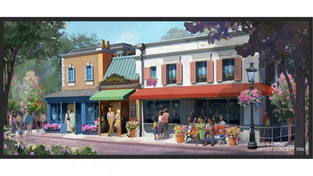Epcot's new French crêperie - IMAGE VIA DISNEY