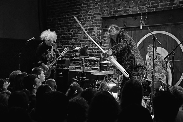 The Melvins at the Social - JIM LEATHERMAN
