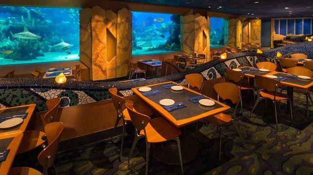 Epcot's Coral Reef restaurant - IMAGE VIA DISNEY