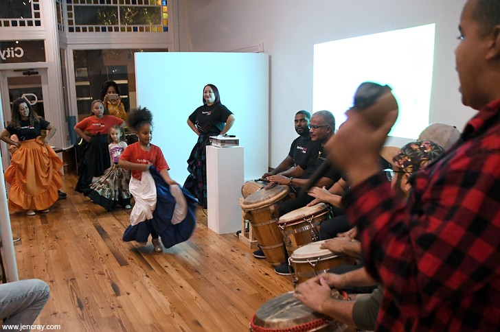 Afro-Puerto Rican rhythms at the In-Between Series - JEN CRAY