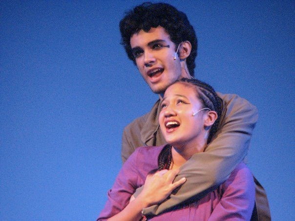 Jonah Ho'okano and Kaena Kekoa in 'Aida,' 2010 - PHOTO COURTESY DR. PHILLIPS CENTER