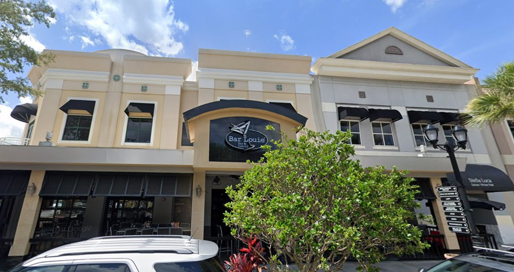 Bar Louie in Winter Park is expected to remain open - IMAGE VIA GOOGLE MAPS