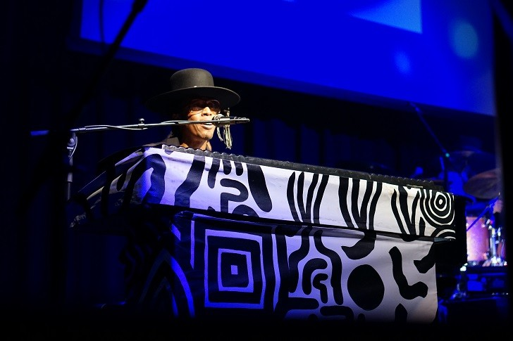 Raphael Saadiq at the Plaza Live - MICHAEL LOTHROP