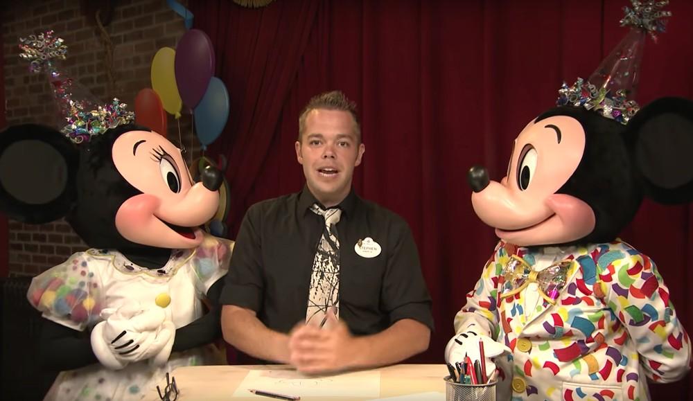 Disney cast member Stephen Ketchum - SCREENSHOT VIA DISNEY PARKS/YOUTUBE
