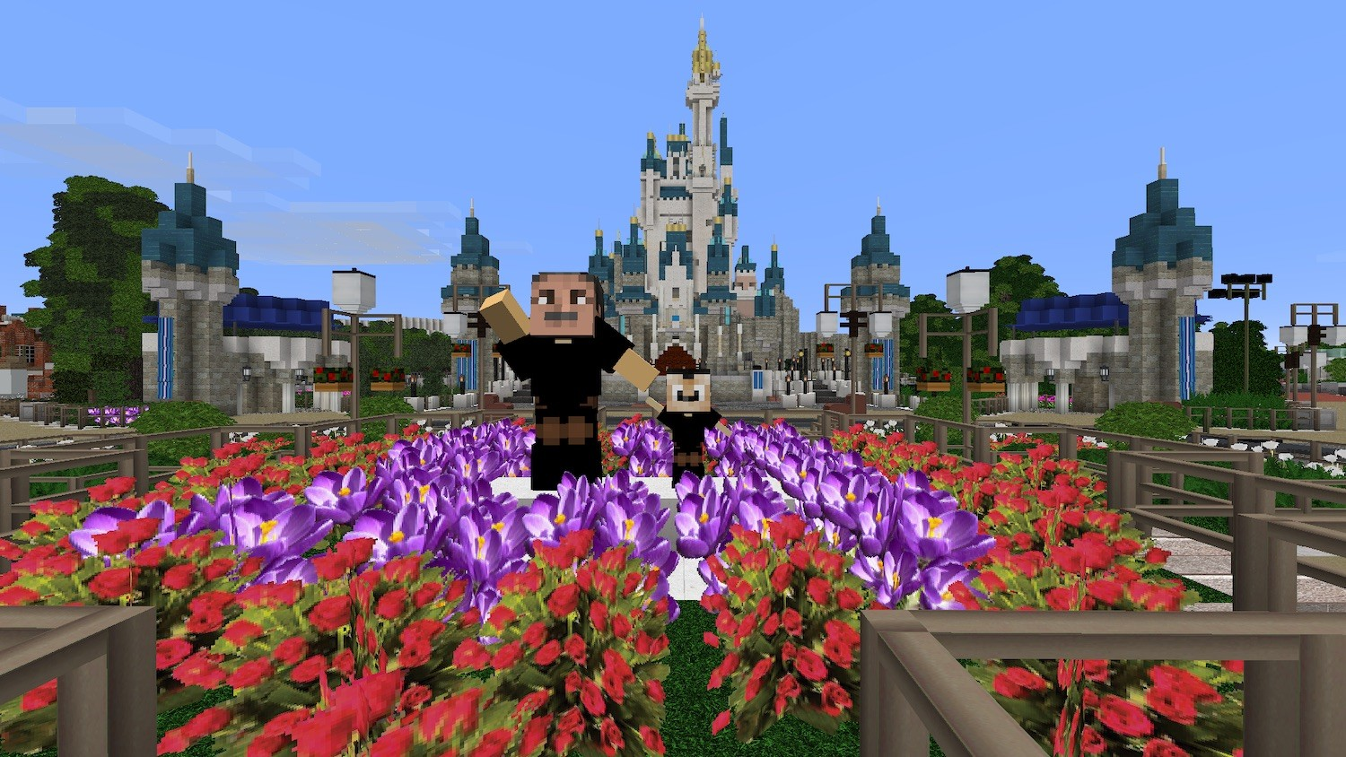 Minecraft And Disney World Collide In Imaginears Club A High Tech