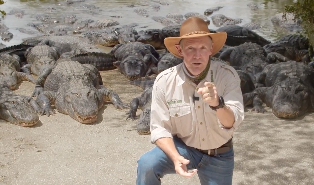 Gatorland president and CEO Mark McHugh - SCREENSHOT VIA GATORLAND/YOUTUBE