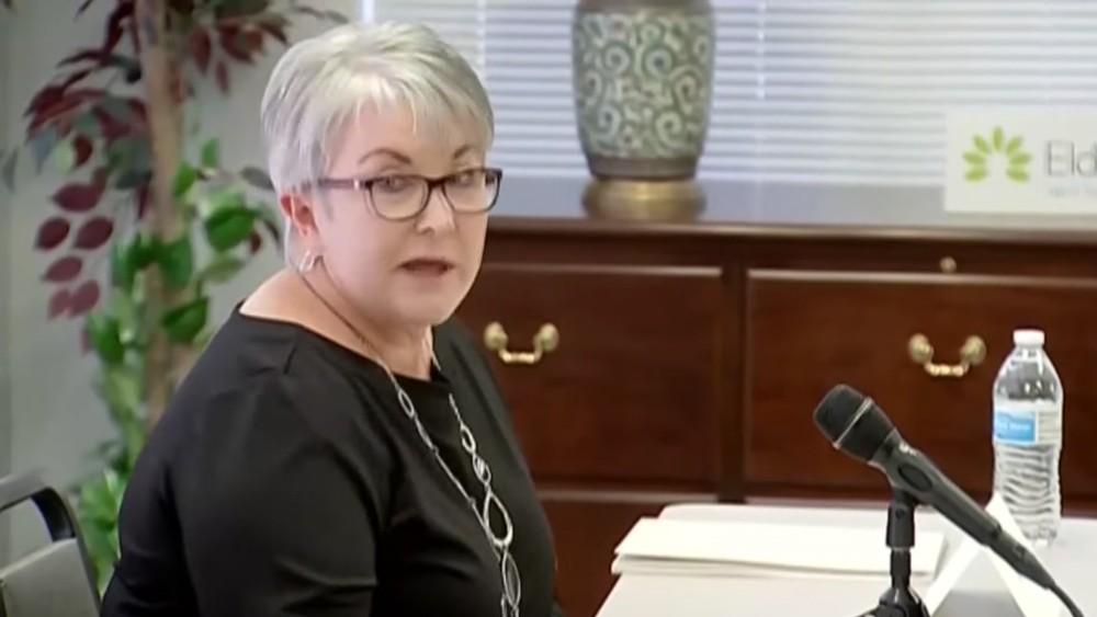 Mary Daniel on Tuesday - SCREENSHOT VIA FLORIDA CHANNEL