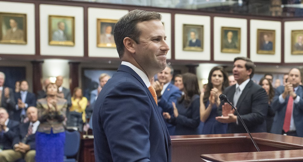 Incoming House Speaker Chris Sprowls, R-Palm Harbor - PHOTO VIA FLORIDA HOUSE OF REPRESENTATIVES