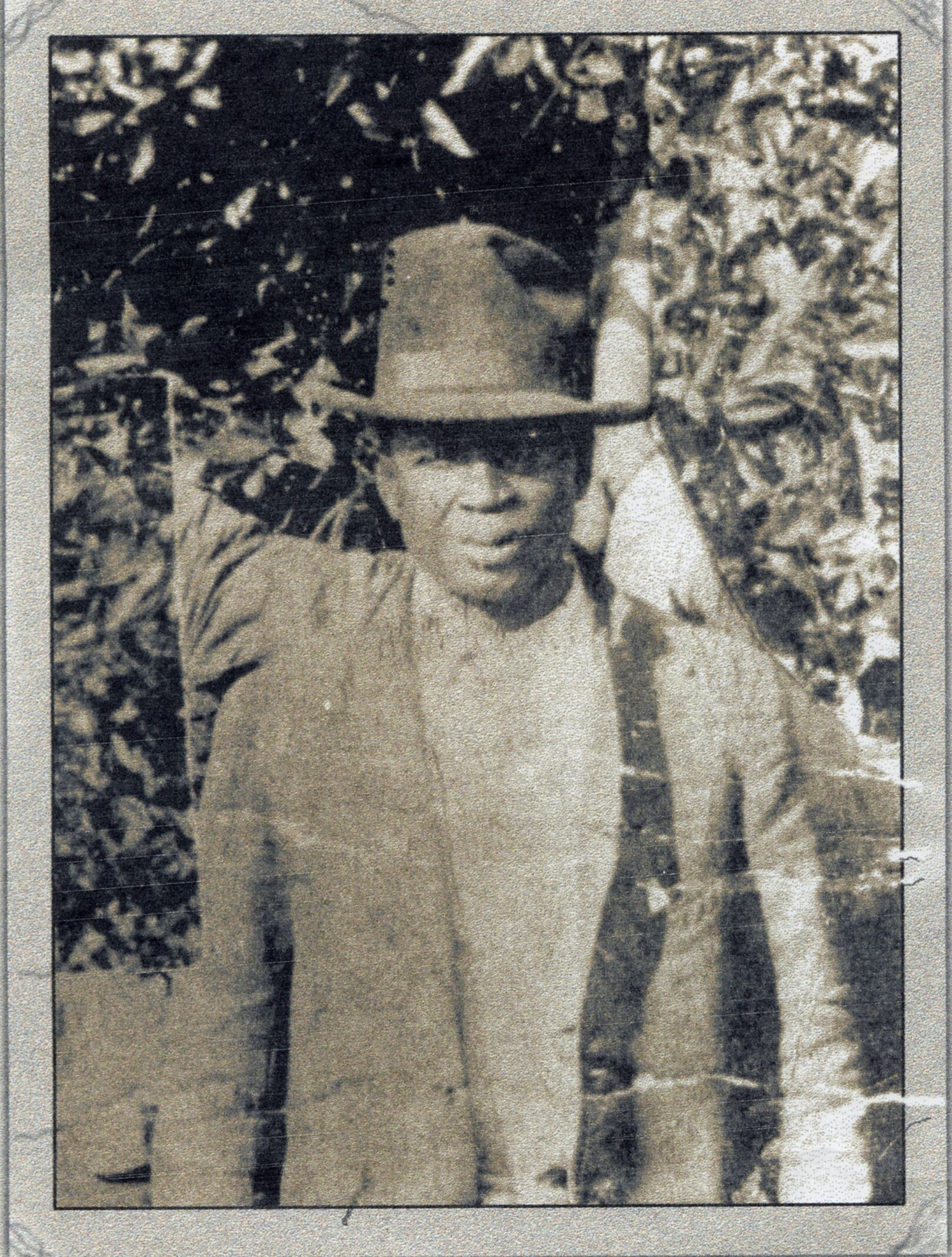 On Election Day in 1920, Julius 'July' Perry was beaten and lynched by white men incensed that he attempted to vote. - PHOTOS AND DOCUMENTS COURTESY ORANGE COUNTY REGIONAL HISTORY CENTER