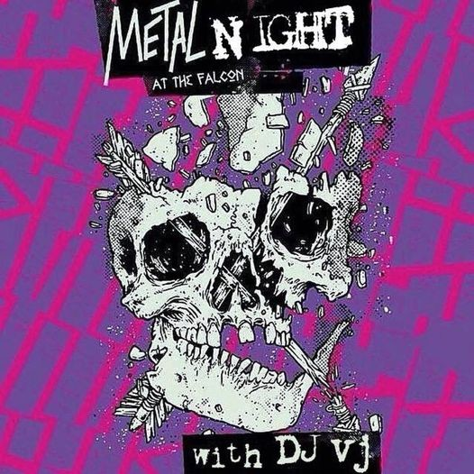 Metal Mondays with DjVj - VIA THE FALCON'S FACEBOOK