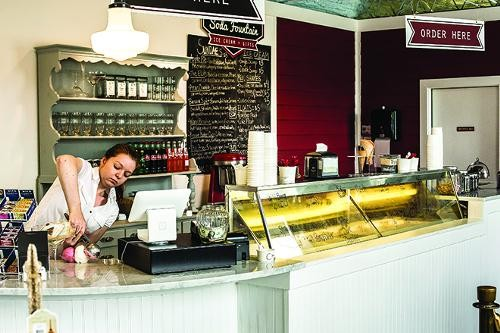 The Soda Fountain - PHOTO BY ROB BARTLETT