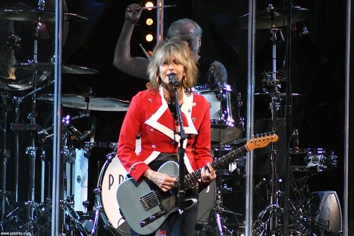 Pretenders at Amway Center - JEN CRAY