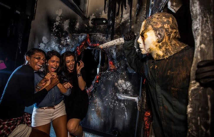 click to enlarge photo via universal orlando - The Shining Halloween