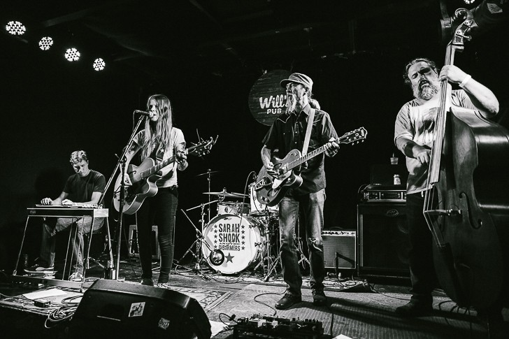Sarah Shook and the Disarmers at Will's Pub - JAMES DECHERT
