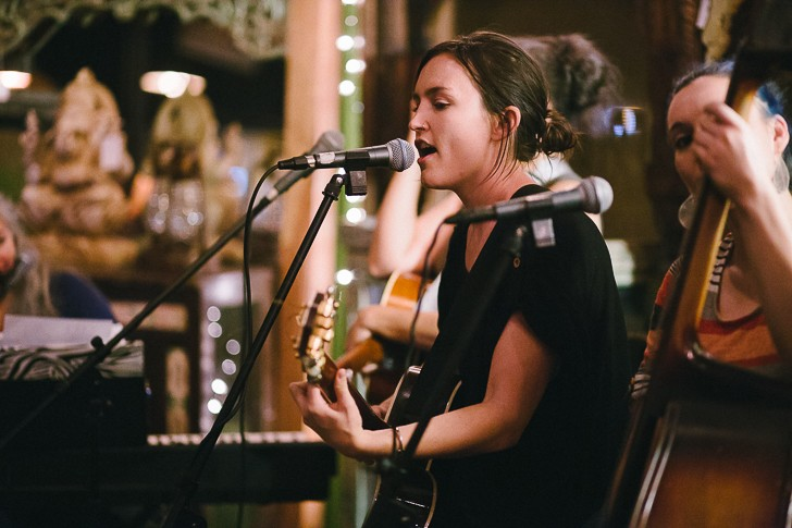 Hannah Harber at the Imperial - JAMES DECHERT