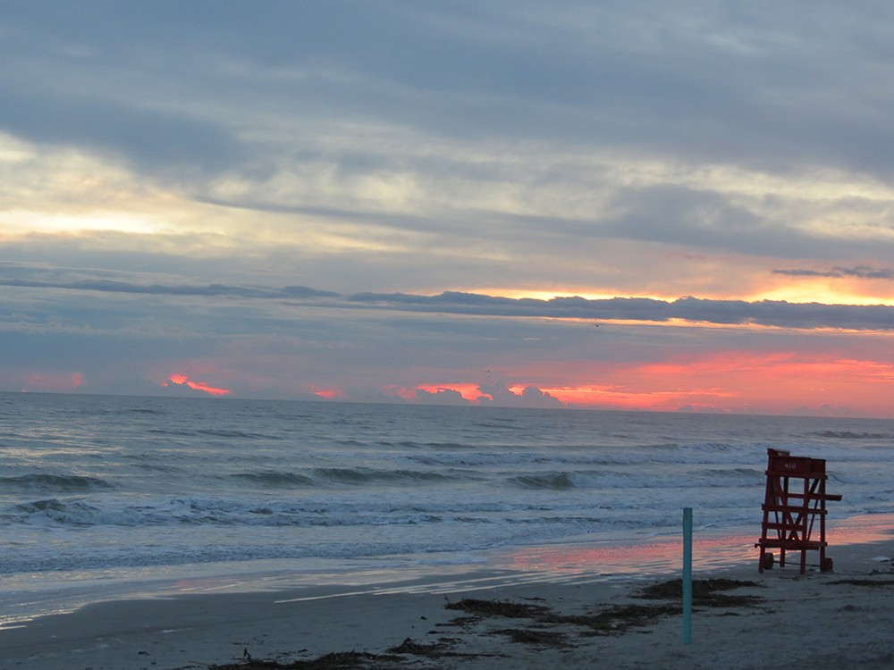 Click To Enlarge 121212 Sunrise At New Smyrna Beach Fl Jpg