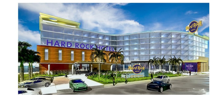 Click To Enlarge Hard Rock Hotel Daytona Beach Concept Art Photo Via International