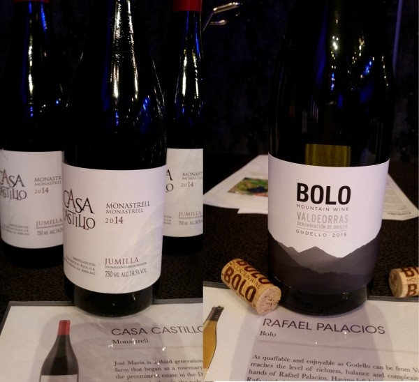 Wines from Spain: Monastrell and Godello (Spain)