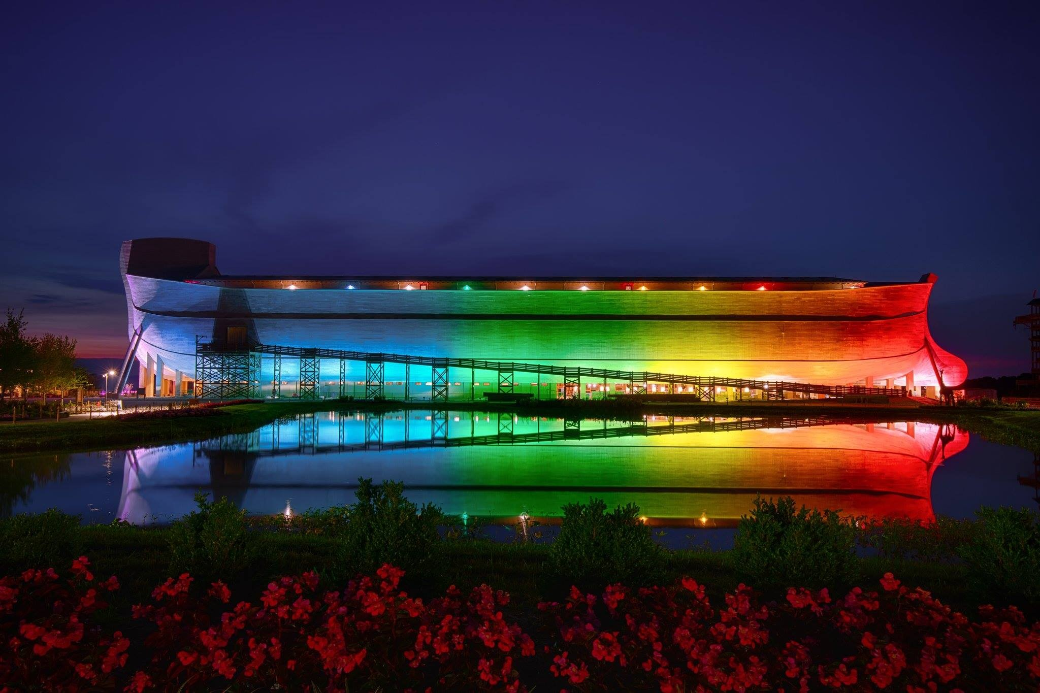 This Is Ken Hams Sad Attempt To Take Back The Rainbow Symbol From