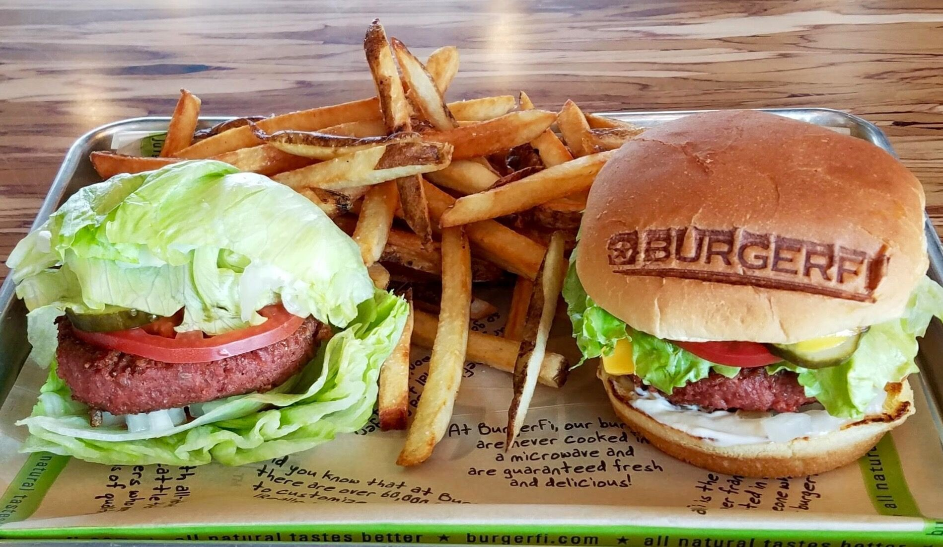 Burgerfi To Start Serving Beyond Burger The Plant Based Burger That Bleeds Blogs