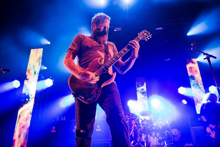 Mastodon at Hard Rock Live - JAMES DECHERT