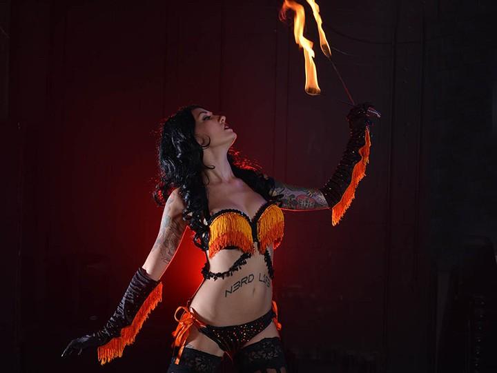 Kissa Von Addams as Sauron