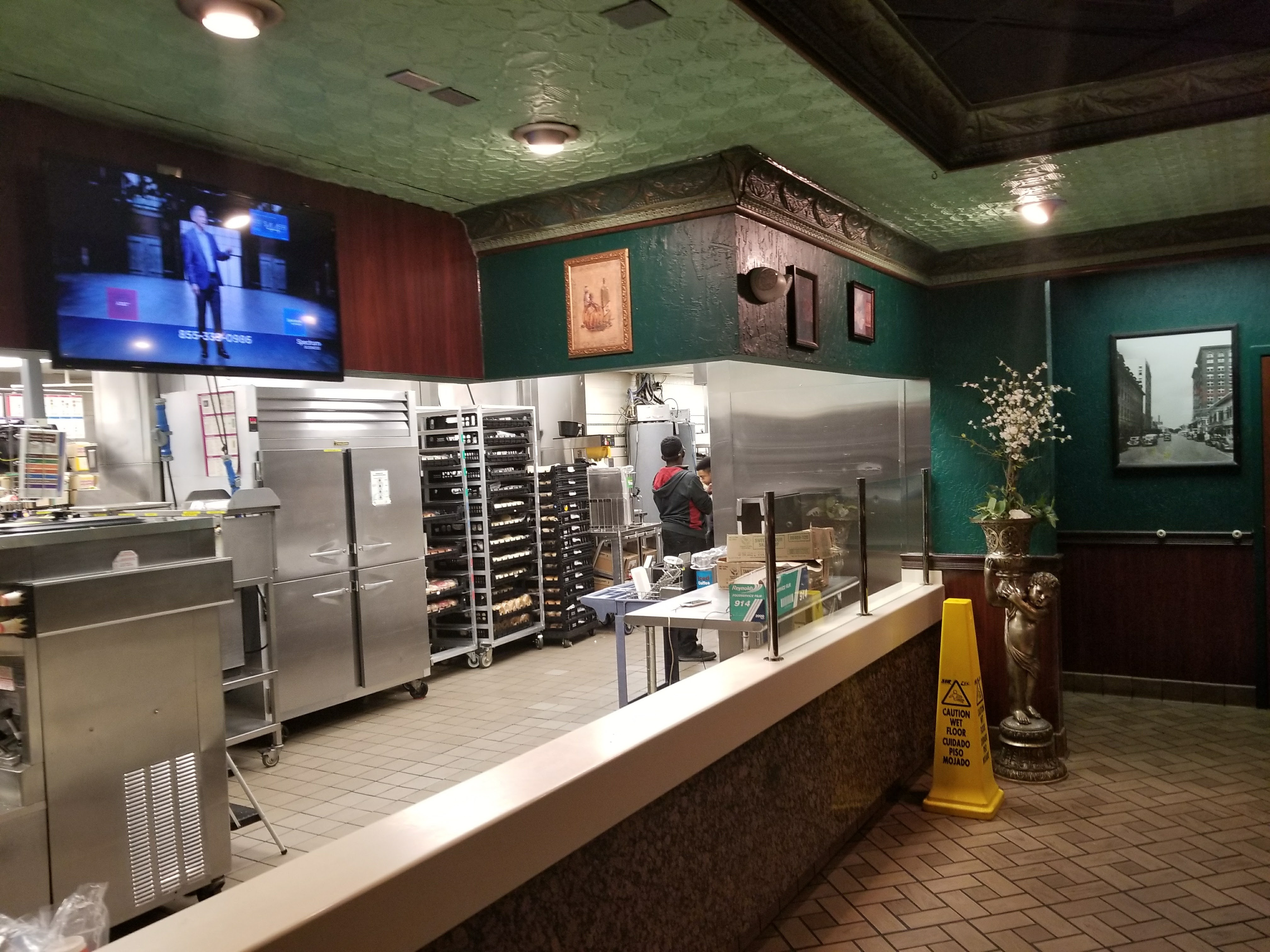 The Former Bistro Gourmet Counter Area At The SODO McDonaldu0027s