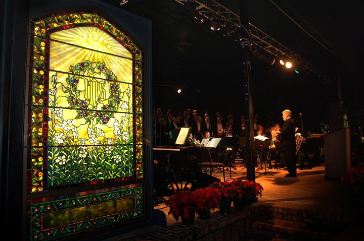 Christmas In The Park.Morse Museum Decorates Winter Park S Central Park For Annual