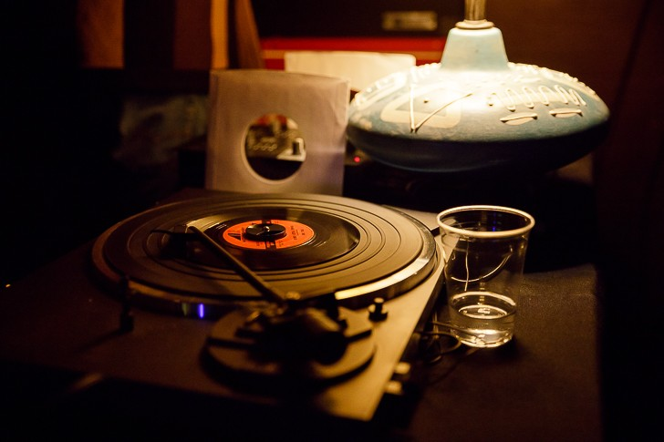 DJ Mezcalculation and His Atrocity Jukebox at Will's Pub - JAMES DECHERT