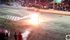 They're gonna light a guy on fire at the Orlando Speedworld's Night of Destruction