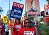 Deputies break up rally of Disney union workers demanding living wages