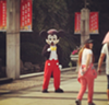 A knockoff Mickey Mouse spotted in Shanghai