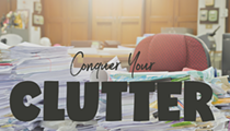 Conquer Your Clutter