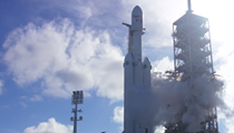 Watch SpaceX launch its Falcon Heavy rocket live right here