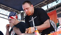 Joey Chestnut returns to defend his reign at Orlando's World Chili Eating Challenge this weekend