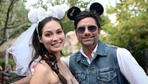 John Stamos is currently celebrating his honeymoon at Disney World