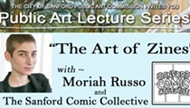 The Art of Zines with Moriah Russo: Sanford Public Art Lecture Series