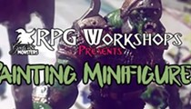 RPG Workshop: Painting Minifigures