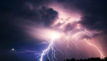Five people were struck by lightning this weekend in Florida