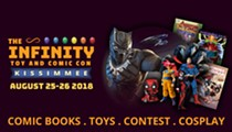 The Infinity Toy and Comic Con