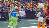 Anthropomorphic animals compete to benefit charity at the annual Mascot Games