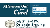 Afternoon Out for a Cure for Huntington's Disease